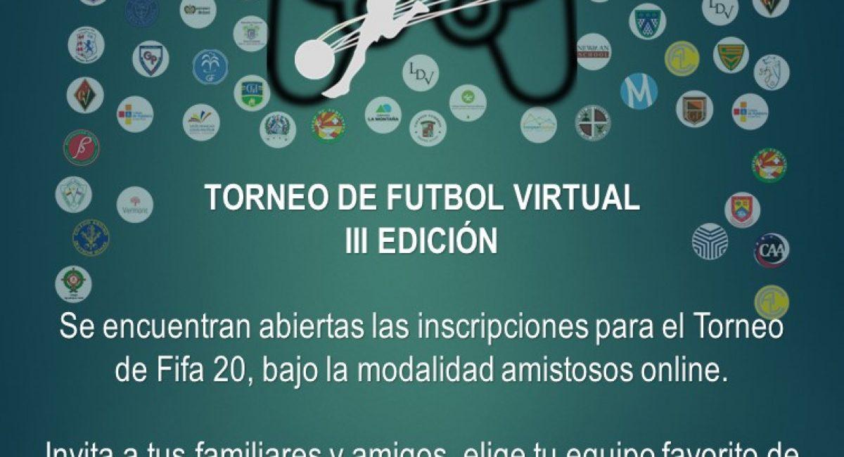 Torneo Virtual – Inscripciones Cerradas